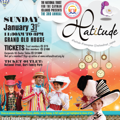 CELEBRATIONS IS A PROUD SPONSOR OF DESIGN & DECOR FOR HATITUDE 2016