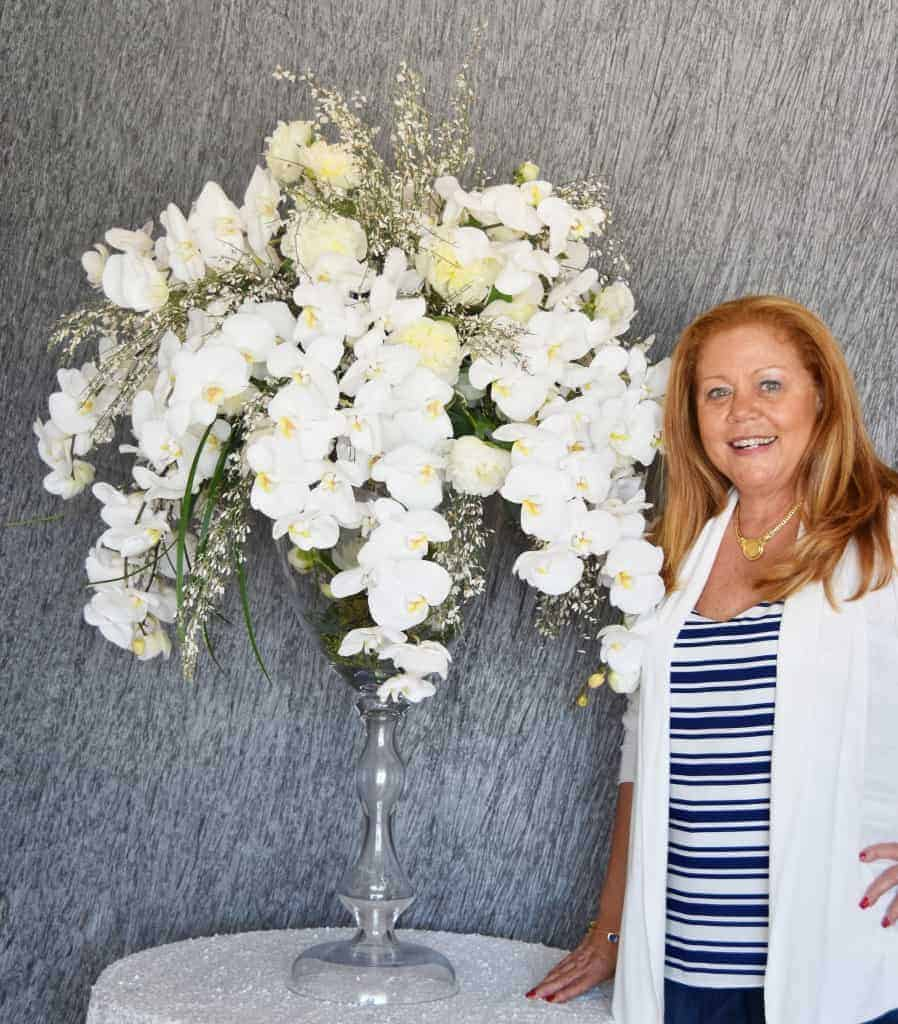 LUXURIOUS ARRANGEMENT FROM THE JOANNE V. BROWN DESIGN COLLECTION AT CELEBRATIONS