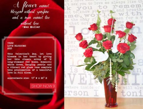 OUR VALENTINE'S GIFT COLLECTION – YOUR LOVE STORY WRITTEN IN FLOWERS