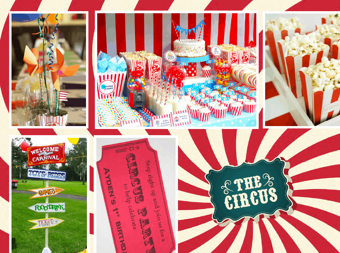 Awesome Circus Themed Children's Birthday Party - Cayman Islands Kids Birthday Ideas