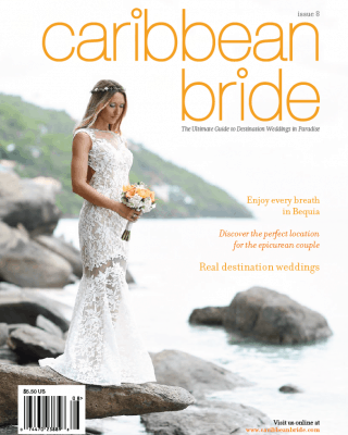 cover of caribbean bride magazine