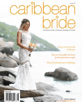 cover of caribbean bride magazine
