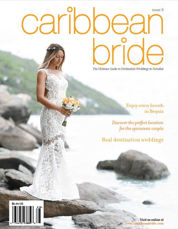 CELEBRATIONS CREATIVE DIRECTOR JOANNE BROWN FEATURED IN CARIBBEAN BRIDE MAGAZINE
