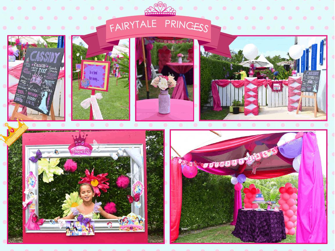 Awesome Fairytale Princess Themed Children's Birthday Party - Cayman Islands Kids Birthday Ideas