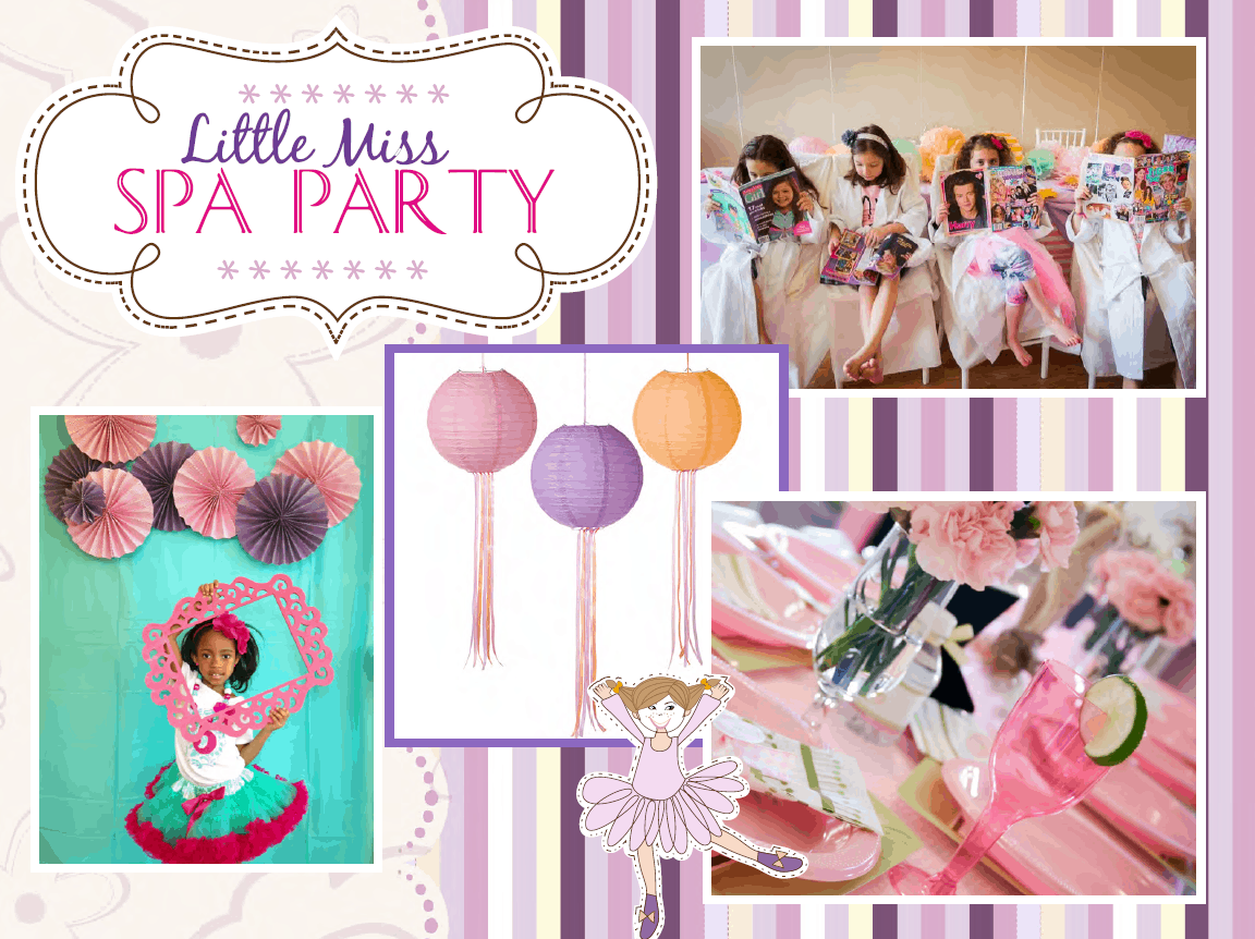 Awesome Spa Themed Children's Birthday Party - Cayman Islands Kids Birthday Ideas