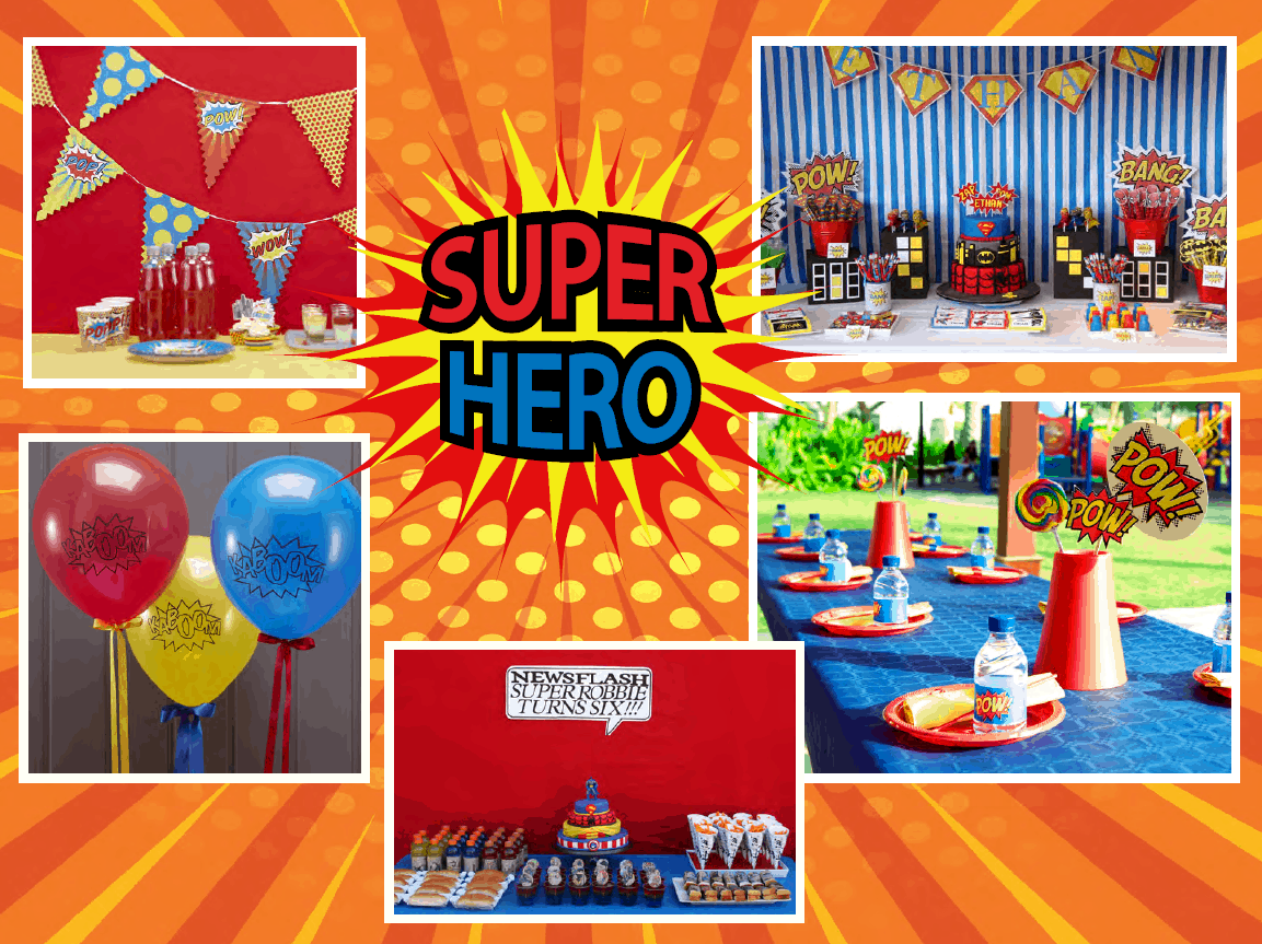 Awesome SuperHero Themed Children's Birthday Party - Cayman Islands Kids Birthday Ideas