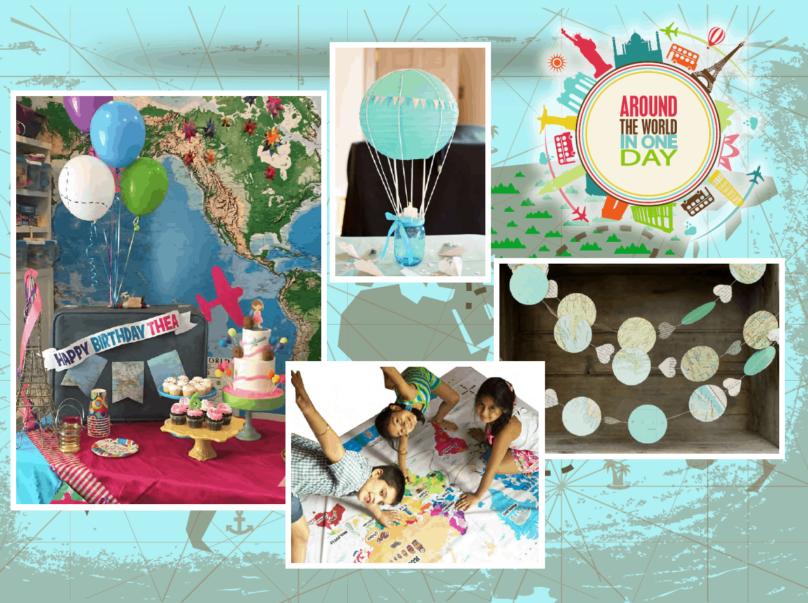 Awesome Travel Themed Children's Birthday Party - Cayman Islands Kids Birthday Ideas