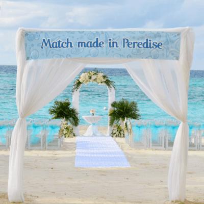 "Oceanside Wedding in Paradise – Or should we say ""Peredise"""