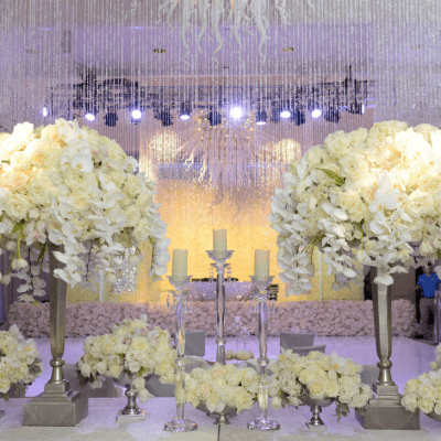 Luxurious Phalaenopsis Orchid Filled Destination Wedding Setup By Celebrations