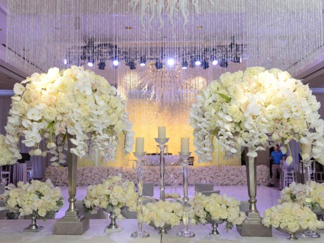 Luxurious Phalaenopsis Orchid Filled Destination Wedding Setup By Celebrations