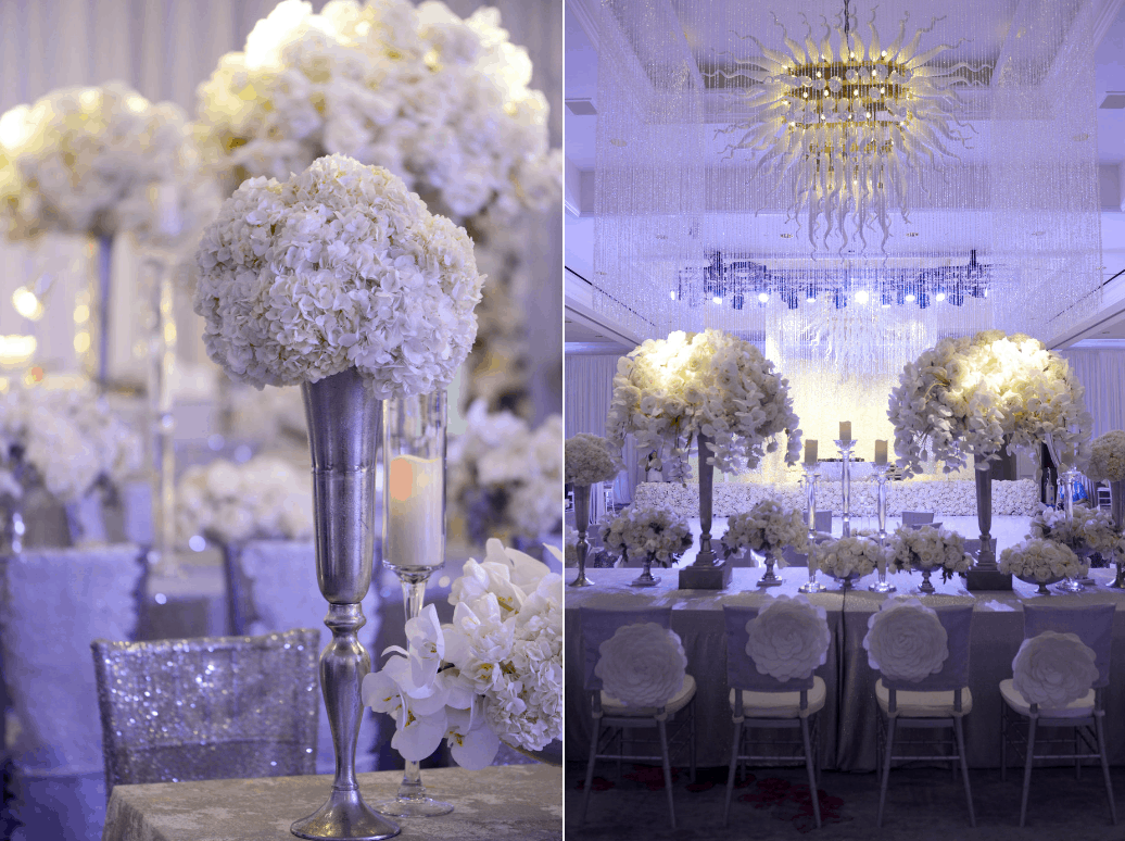 Luxurious orchid filled destination wedding set up by celebrations destination wedding centerpieces made of phalaenopsis orchids we created this for the set up karen junglespirit Gallery