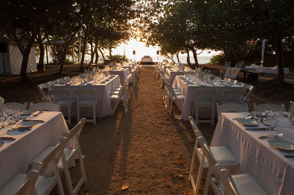 Dinner in White / Diner en Blanc - Cayman Islands - Caribbean
