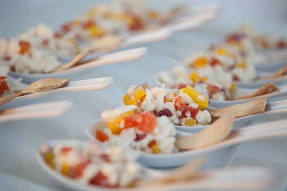 Vegan Coconut Ceviche by Island Naturals Cafe in the Cayman Islands