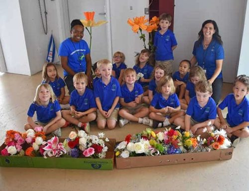 Cayman International School Kids Learn to Be Florists