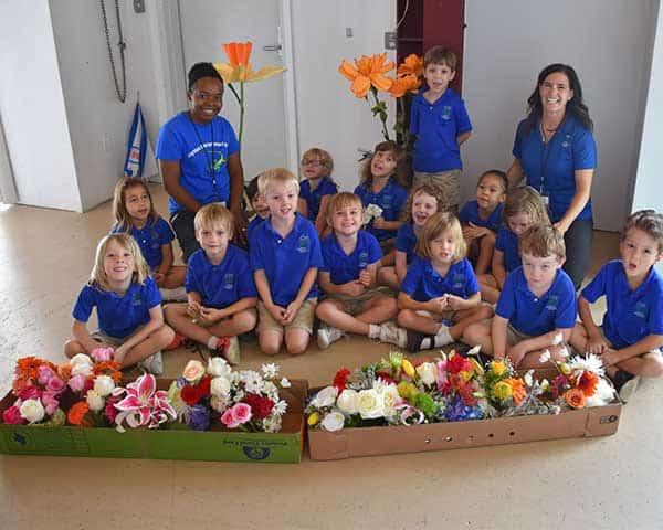Cayman International School Kids Learn to Be Florists