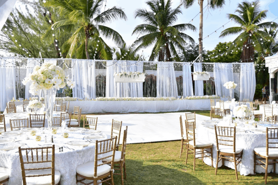 Beautiful White Soft Wedding In The Cayman Islands / Caribbean