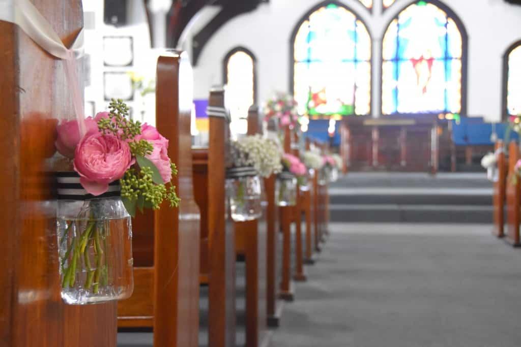 Cayman wedding, emlslie church