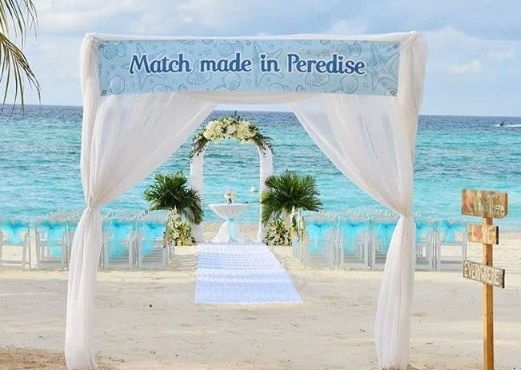 LOCAL CAYMAN ISLANDS SILVER THATCH WEDDING DETAILS