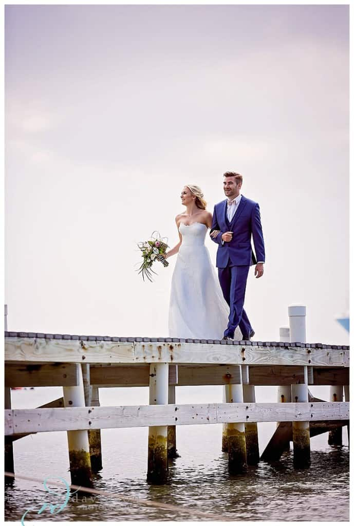 cayman wedding, pink and black wedding