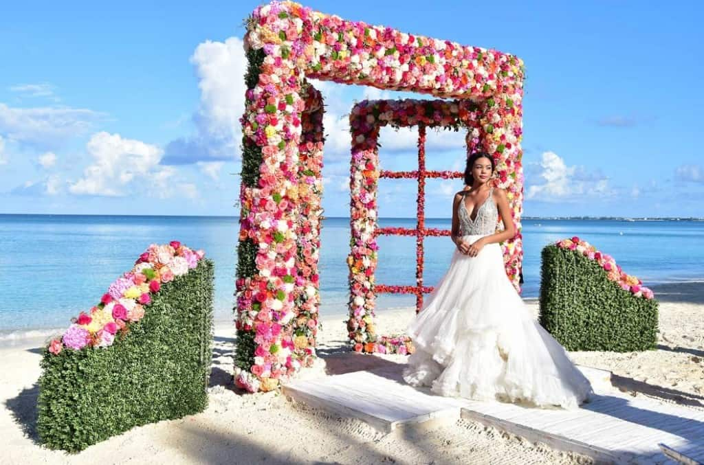 Best Fantasy Beach Destination Wedding Ever