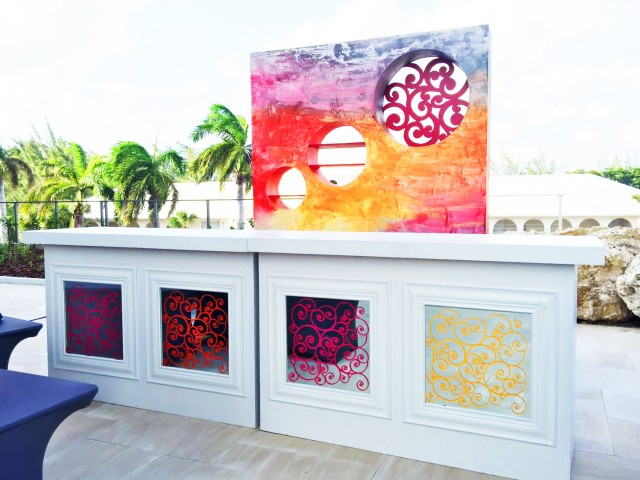 Sunset & Seafire Inspired Gala Decor