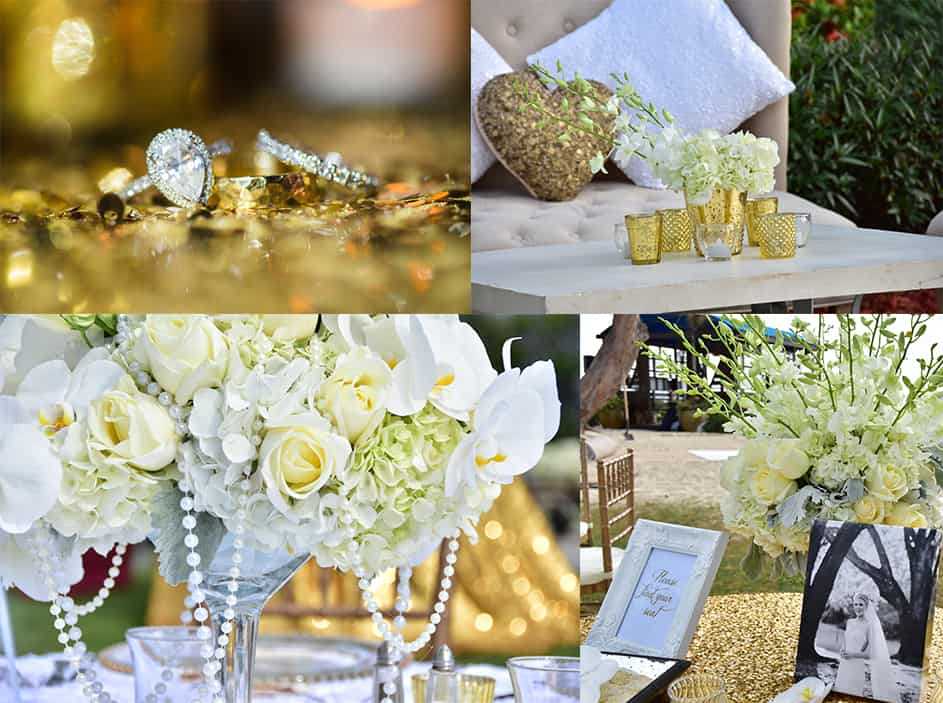beach wedding details - all white wedding - getting married in the cayman islands