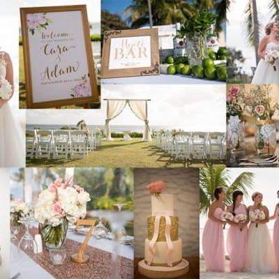 BEAUTIFUL PASTEL BEACH WEDDING – DESTINATION: CAYMAN ISLANDS