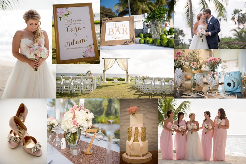 PASTEL BEAUTIFUL BEACH WEDDING - DESTINATION: CAYMAN ISLANDS