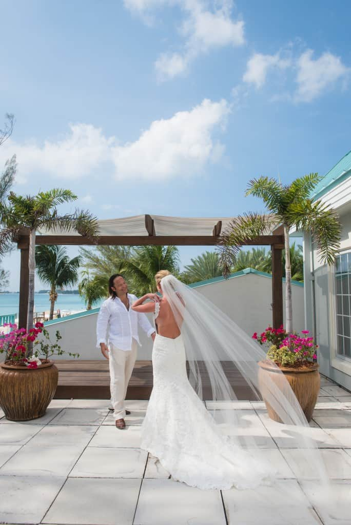 All White Luxurious Beach Wedding Krissy Carlos
