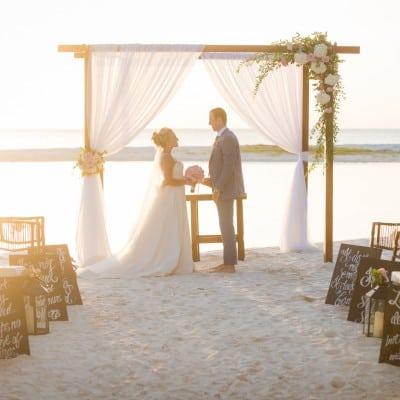 BEACH ELEGANCE – LUXURY WEDDING
