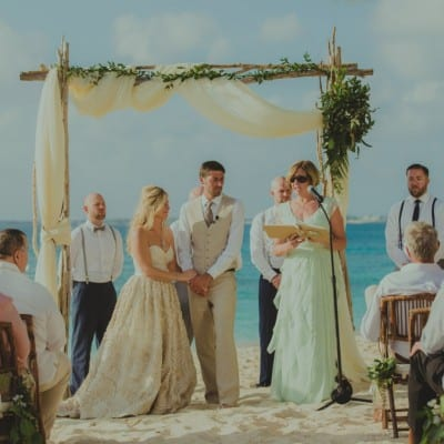 BEAUTIFUL BOHO-CHIC GRAND CAYMAN BEACH WEDDING