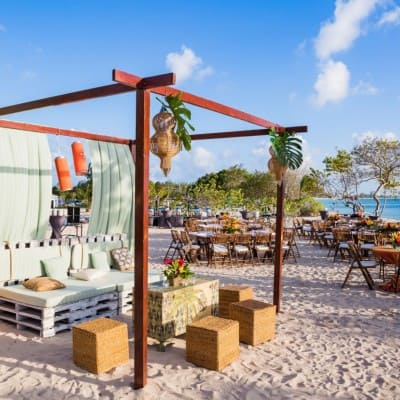 TOMMY BAHAMA CORPORATE BEACH EVENT RECEPTION
