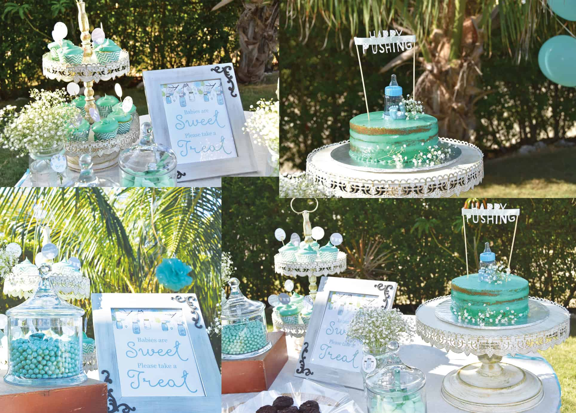 Baby Shower Cayman Islands Decor by Celebrations Ltd. in Grand Cayman