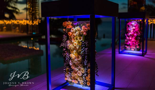 18-cocktail-tables-with-floral-accents-destination-wedding-cayman-islands-jvb-design-house