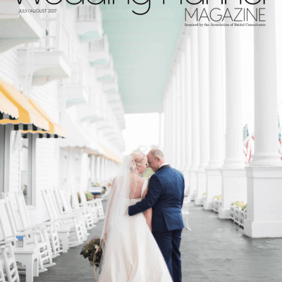 WE'RE FEATURED IN WEDDING PLANNER MAGAZINE!