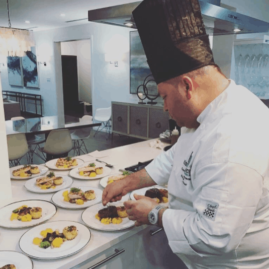 destination wedding culinary creations by the team at mise en place grand cayman