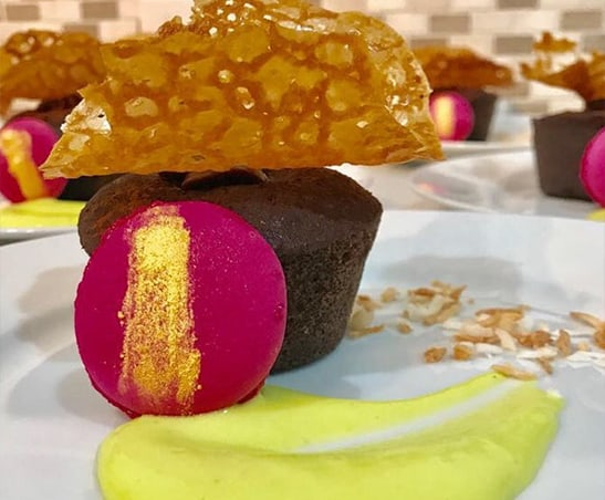 dessert by mise en place cayman