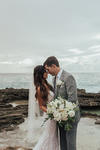 CASSIE & DAVE RUSTIC DESTINATION WEDDING AT GRAND OLD HOUSE IN THE CAYMAN ISLANDS