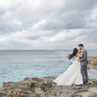 "A CAYMAN ISLANDS WEDDING OF ELEGANCE & ROMANCE: MARIANA & JOE, 2ND ANNUAL ""WIN A WEDDING"" COUPLE"