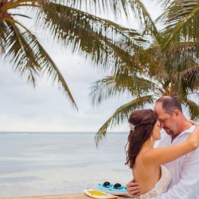 Jennifer & Chad Stunning Seaside Ceremony In The Cayman Islands