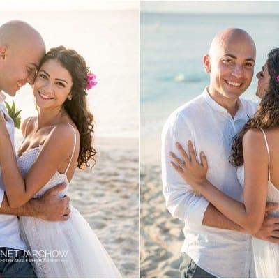 A Romantic Caribbean Elopement of Ioana & Cristian
