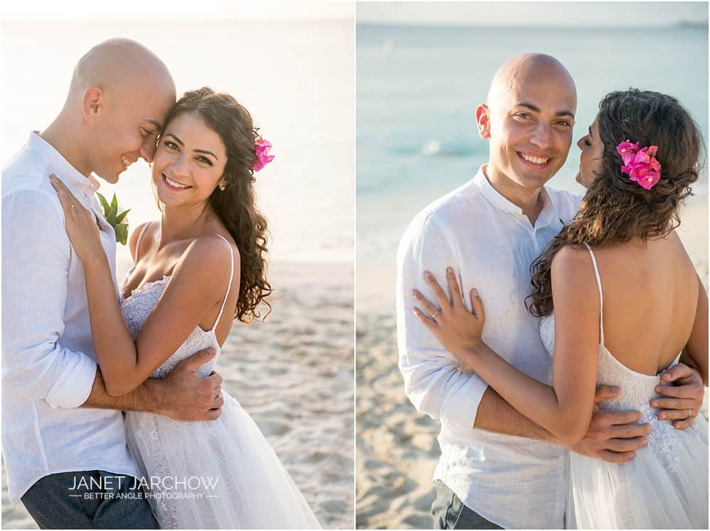 A Romantic Caribbean Elopement of Ioana & Cristian