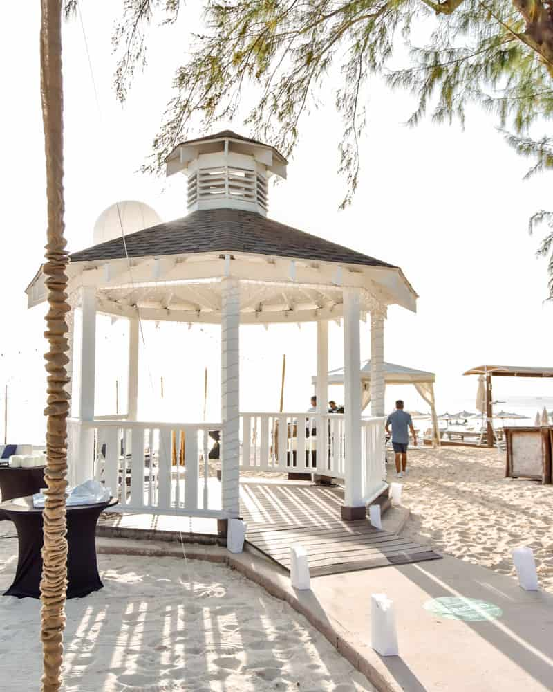 Gazebo at the Westin, Celebrations Cayman Wedding and Event Planners