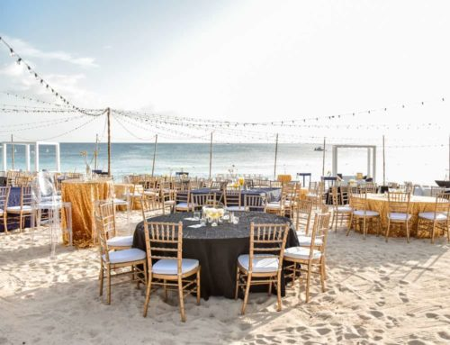 How to Create a Starry Night Beach Event