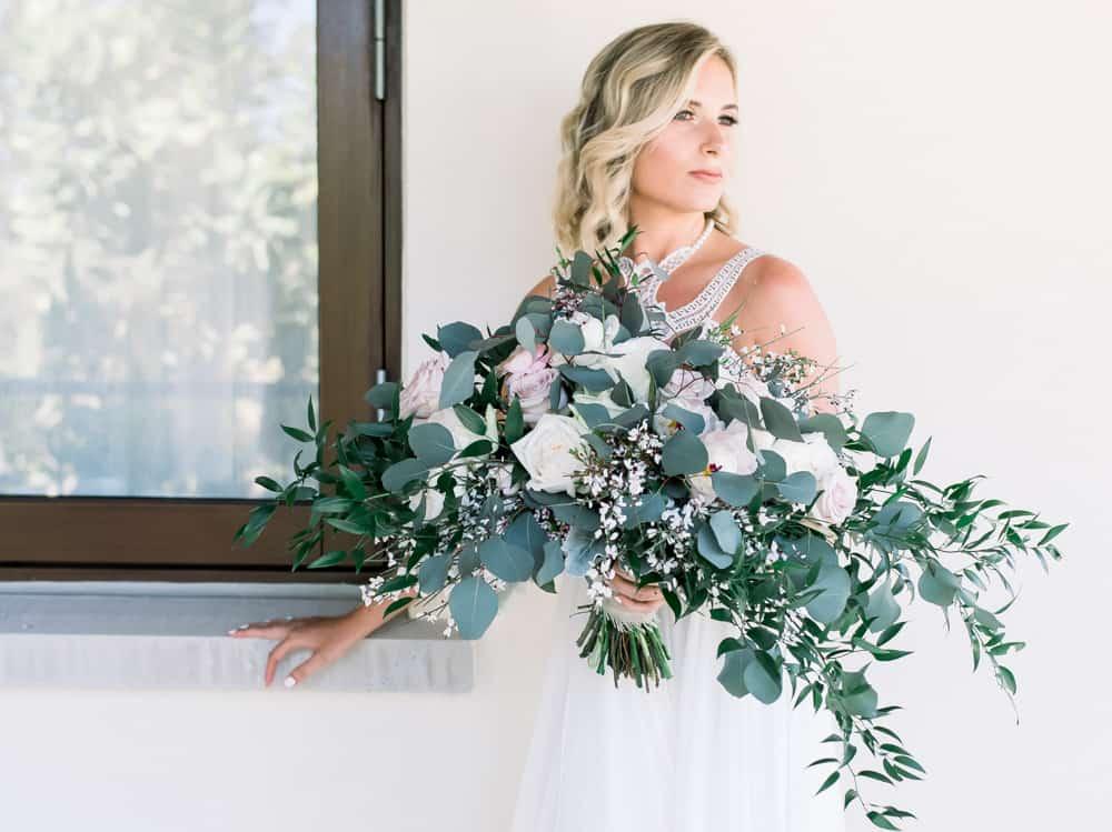 Botanical bohemian elegant wedding bouquet | Celebrations Cayman Islands Wedding Planner