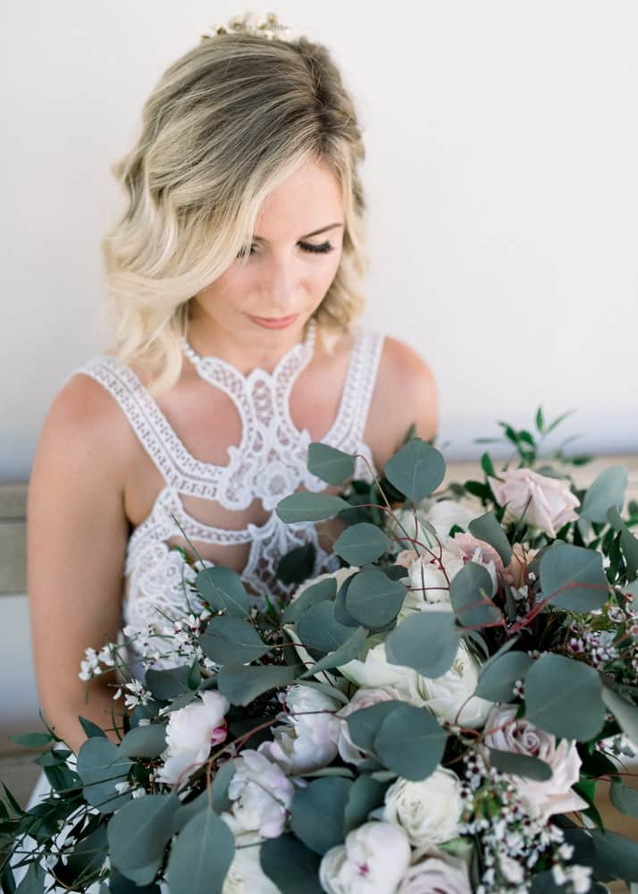 Elegant and ethereal wedding bouquet | Celebrations Cayman Wedding Planner