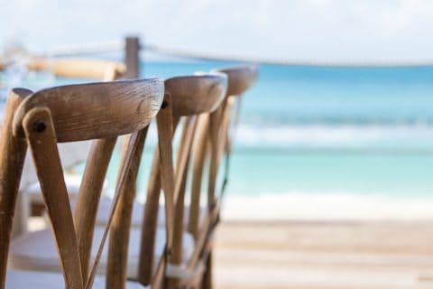 Boho Tropical Beach Wedding