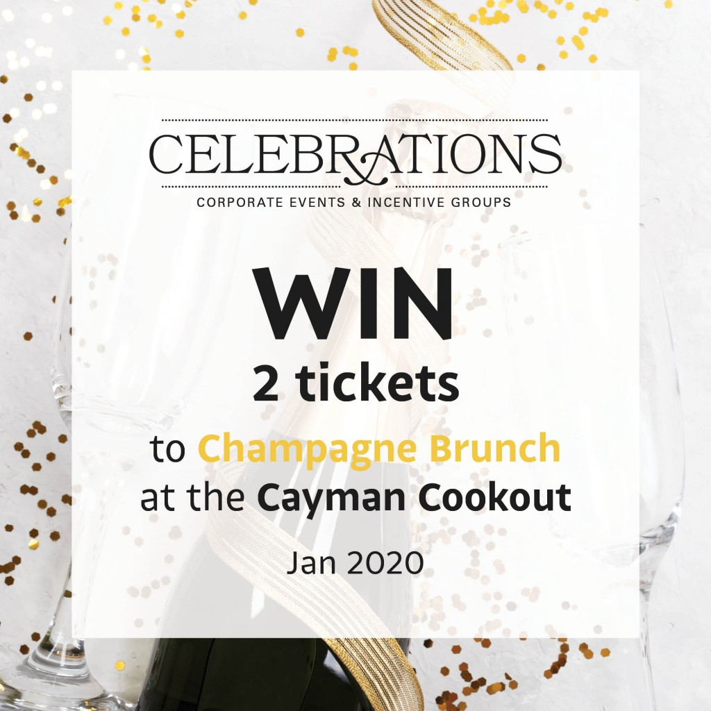 Win 2 tickets to Champagne brunch at the Cayman Cookout