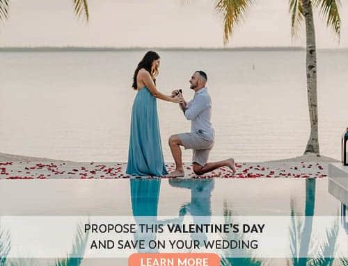 BOOK YOUR VALENTINE'S DAY PROPOSAL WITH CELEBRATIONS AND SAVE BIG ON YOUR WEDDING