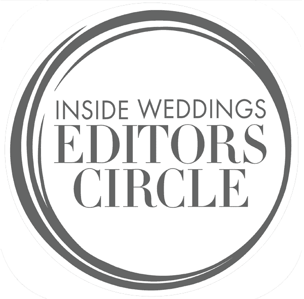 Inside Weddings Editors Circle Logo